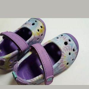 Stride Rite Girl's Sz 5 Breathable Purple Shoes
